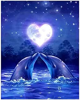 5d Diamond Painting 2020 Dolphin Modern Living Room Bedroom Decorations Product 5d Diamond Painting 2020 Simple Dolphin Landscape Diamond Painting Modern Living Room Bedroom Decoration 30*25cm E