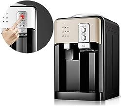 ZJZ Draagbare desktopdispenser, mini-waterdispenser met warm en koud water, roestvrijstalen tank, waterdispenser voor thui...