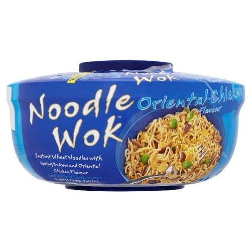 Blue Dragon Noodle Wok Oriental Chicken Flavour 65g (Packung 6)