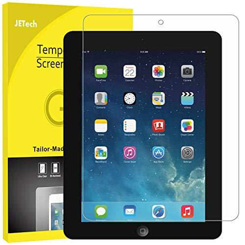 JETech Schutzfolie Kompatibel mit iPad 4, iPad 3 & iPad 2, Gehärtetem Glas Bildschirmschutzfolie