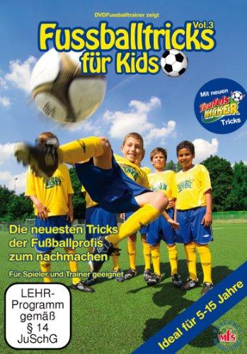 Fussballtricks für Kids Vol. 3 / Neue Fußballübungen im Fußballtraining (DVD)