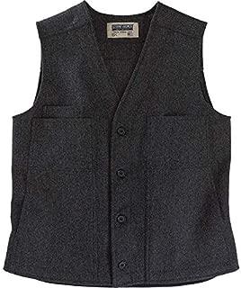 Button Vest - Cold Weather Men's Wool Vest