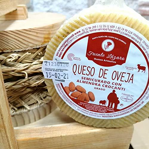 Queso de Oveja Semicurado con Almendra Crocanti 3,2 kg