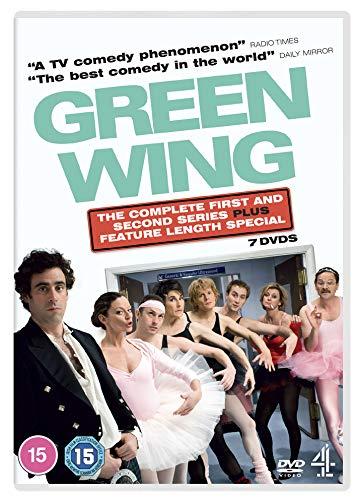 Green Wing: Series 1-2 + Special (Repackage) [DVD]