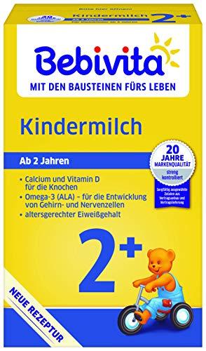 Bebivita Milchnahrung Kindermilch 2+, 4er Pack (4 x 500 g)