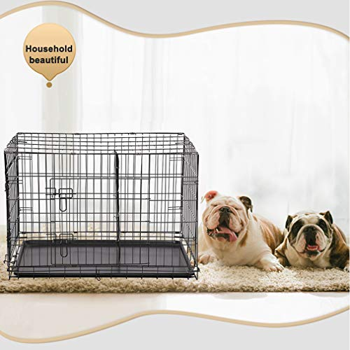 BestPet 30' Large Folding Wire Pet Cage for Dog Cat Cage House