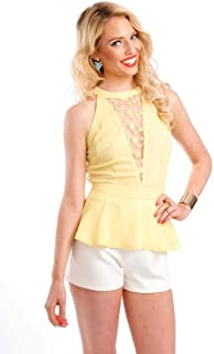 Hipster Msb6873Nr-S Sleeveless Top For Women - S
