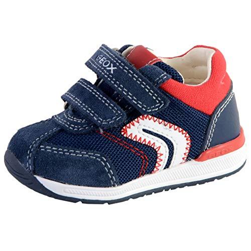 Geox Baby-Jungen B RISHON Boy B Sneaker, Blau Navy, 19 EU
