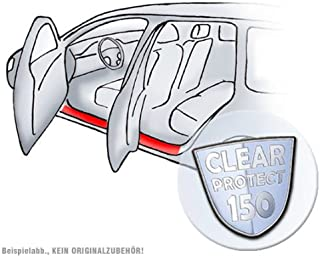 Lackschutzshop Einstiege Lackschutzfolie für Türeinstiege im Set, transparent 150µm