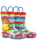 Hey Duggee Boys Wellington Carry Handle Snow Boots, Red, 6 UK Child