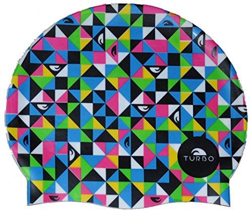 Turbo 9701825/0099 - Cuffia Silicone Adulto, Multicolore (Origami)