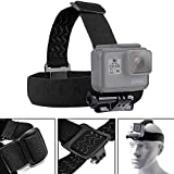 Head-Mounted Headband Mounting Strap Mount Head Strap Mount Gopro Head Strap Gopro Helmet Mount for Compatible with All Models of HERO3 HERO2 HD of GOPRO Cameras