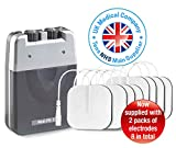 Med-Fit 1 Dual Channel TENS Machine unit for pain relief and pain management therapy, ideal for back , knee, sciatica, arthritis, muscle and joint pain relief
