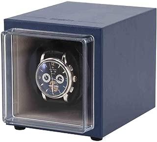 Caja Vitrina Almacenamiento Organizador automático portátil Winder Reloj Individual Adecuado para la muñeca Damas y Hombres Colores múltiples, los Mejores Regalos