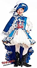 Italian Made Prestige Deluxe Girls French Musketeer Historical Carnival Pageant Fancy Dress Costume Outfit 0-10 Yrs