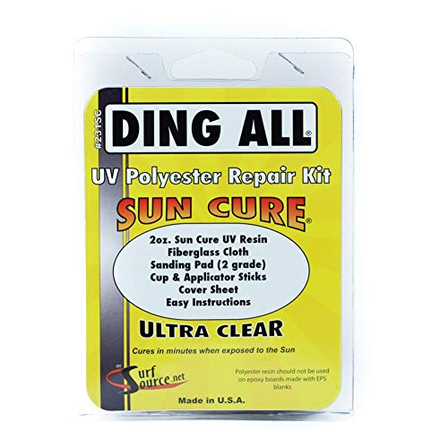 Ding All Sun Cure Surfboard Repair …