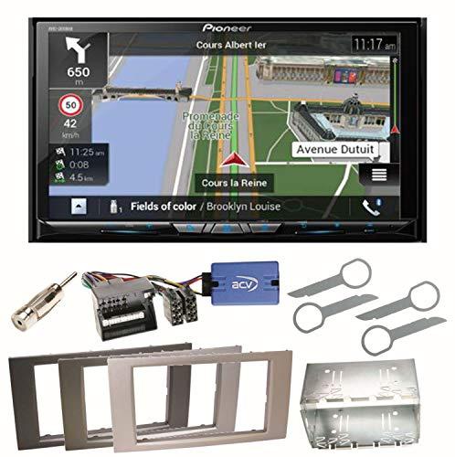 Pioneer z810dab Navegación Radio Digital CarPlay Android Auto Bluetooth USB Dab + CD DVD MP3OHG–para Ford Focus Fusion Galaxy S de MAX