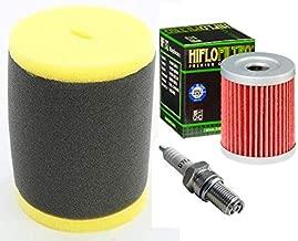 Tune up Kit Oil Filter Air Filter Spark Plug for Suzuki King Quad 300 Quadrunner 250 4WD LT-F