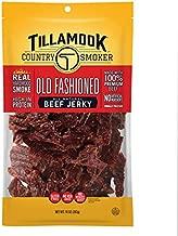 Tillamook Country Smoker All Natural, Real Hardwood Smoked Old Fashioned Beef Jerky, 10 oz Bag