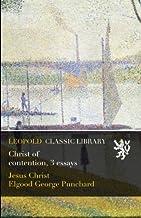 Christ of Сontention. Three  Essays
