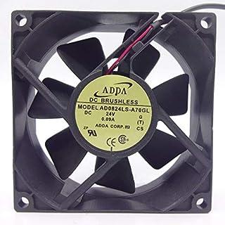 AD0824LS-A70GL ADDA 24V 80mm Fan - 8025 0.09A 2030RPM 2-Wire Inverter Cooling Fan
