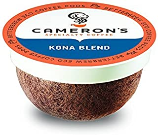 Cameron`s Coffee Single Serve Pods, Kona Blend, 12 Count (Pack of 6)
