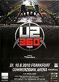 U2-360° Black, Frankfurt 2010 » Konzertplakat/Premium