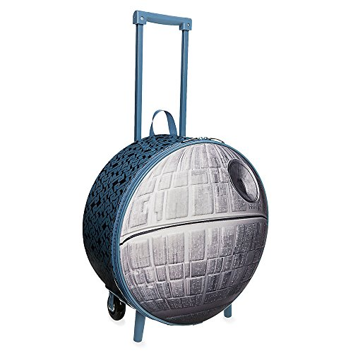 Star Wars Death Star Rolling Luggage - Gray