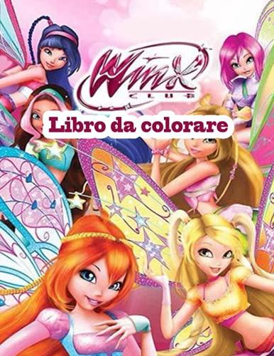 Winx Club libro da colorare