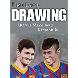 Clip: Time Lapse Drawing Lionel Messi and Neymar Jr