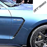 NA Etiqueta engomada de la Insignia del Metal 3D Emblema de la Insignia del Lado del Coche Etiqueta del Maletero Trasero automático para Ford 15-16 Mustang Shelby Car Styling