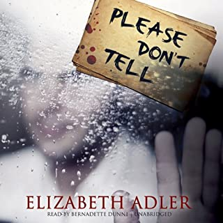 Please Don't Tell audiobook cover art