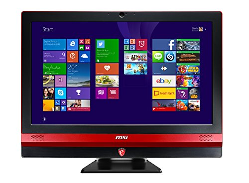 MSI Gaming 24GE 2QE-R7472H8G1T0DS81MANXS Desktop-PC (Intel Core i7 4720HQ, 2,6GHz, 8GB RAM, 1000GB HDD, Win 8.1)
