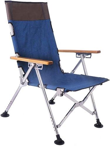 CCDZDM Chaise De Pêche en Acier Inoxydable, Chaise De Pêche Confortable Et Pliable, Chaise De Plage, Chaise De Camping, Amphibie, Allonger Le Tabouret