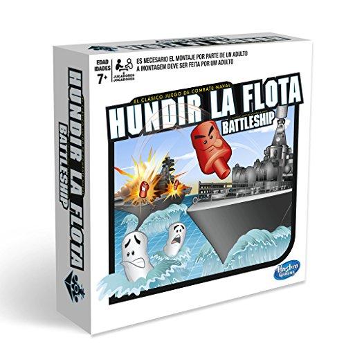 Hasbro Gaming- Hasbro Hundir La Flota, Juego de Tablero, Multicolor, única (A3264B09)
