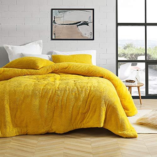 Coma Inducer Oversized Queen Comforter - Teddy Bear - Ochre