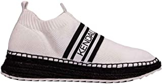 KENDALL + KYLIE Luxury Fashion Womens KKJAKE03 White Slip On Sneakers | Fall Winter 19