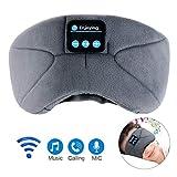 Bluetooth Schlafmaske, LC-dolida Schlaf Kopfhörer Musik Augenmaske Lichtblockierende Schlafbrille...