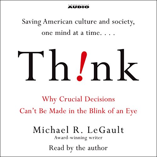 Think! audiobook cover art