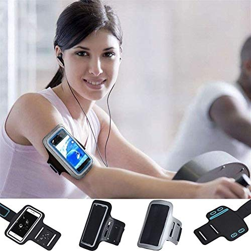 GZSC Armband schwarz Gym Sport Armband for Samsung Galaxy s8 a5 j7 s9 Plus j5 Hinweis 9 8 s6 s7 Rand a8 arm Band Handytasche Fall (Color : for Galaxy a5 2017)