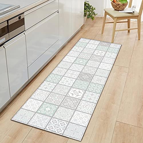 Alfombra de piso de cocina para el hogar Alfombra antideslizante Alfombra de entrada para puerta Alfombras Alfombras para el hogar Alfombras para sala de estar Alfombras para dormitorio A4 50x160cm