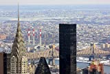 Nonebranded Puzzle Jigsaw Rompecabezas para Nios De 500 Piezas Vista sobre El Empire State Building Desde Una Azotea En Nueva York Juguetes Educativos para Nios Rompecabezas para Adultos Regalo