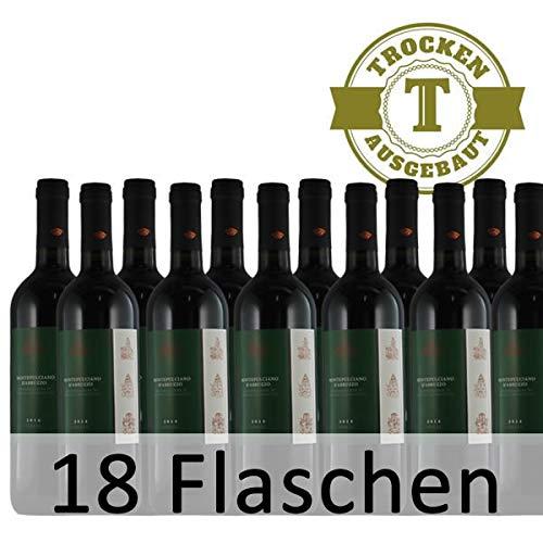 Rotwein Italien Montepulciano d´Abruzzo trocken (18x0,75l)