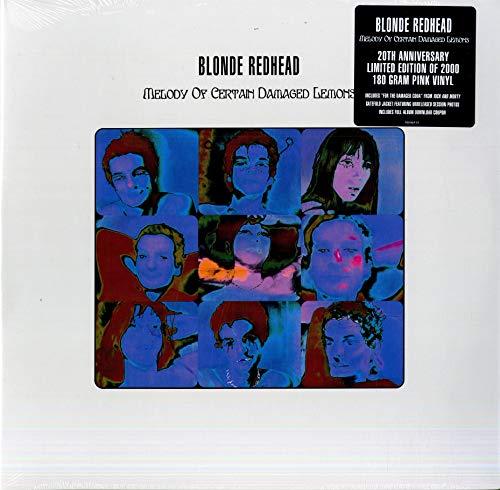 Melody of Certain Damaged Lemons-Vinyle Rose 180 GR