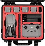 SYMIK A310-MA2 Waterproof Hard Carrying Case for DJI Mavic Air 2 Drone/Fly More Combo; Rugged Professional Case with Complete Protection