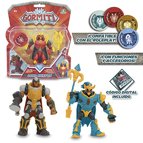 Gormiti – 12 cm articulated action figures with Function, Assorted Models (Giochi Preziosi grm02000)-1 Piece