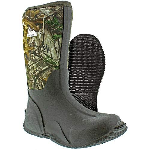 Itasca Kids Mudstomper Winter Boots Size: 6 Camo