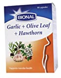 Bional Garlic, Olive and Hawthorn 80 Capsules