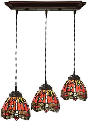 Amazon.com: TOYM-Tiffany creativo accesorios candelabro de ...