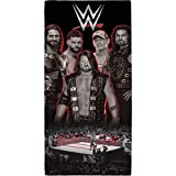 WWE - Toalla diseño Wrestling Ring (Tamaño Único) (Negro)